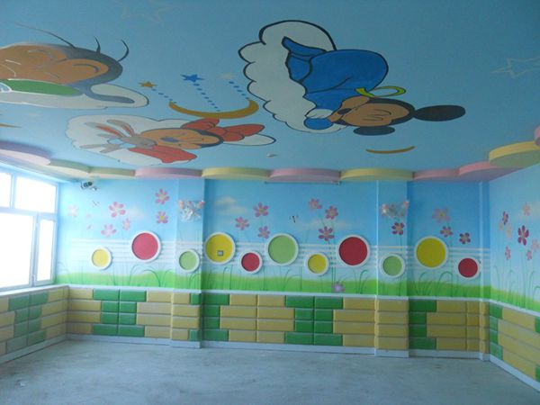 幼儿园墙体画 佳木斯手绘 佳木斯手绘墙 佳木斯墙体手绘 -幼儿园墙体